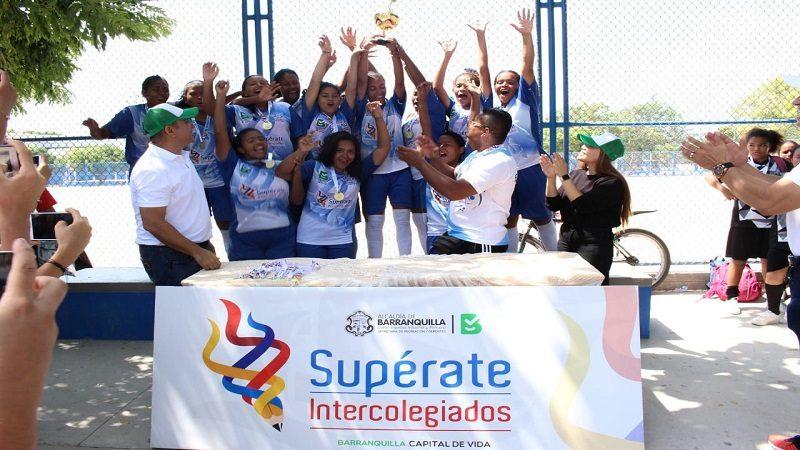 Comienzan las emociones con las finales de los Juegos Deportivos Supérate 'Barranquilla Capital de Vida'