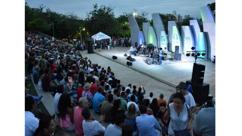 Con alta dosis musical, los barranquilleros disfrutarán este fin de semana en el parque Sagrado Corazón