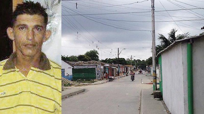 De un disparo en el rostro matan a hombre en el barrio Santa María