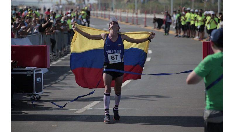 El maratón define el primer lugar de Colombia en el Atletismo