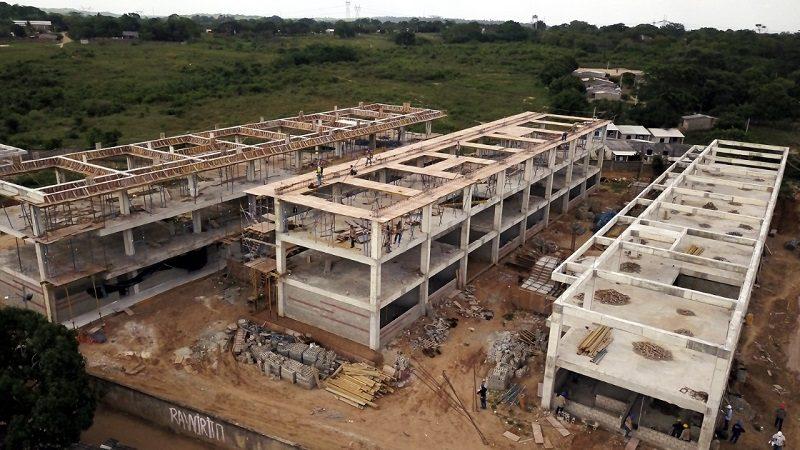 En 73% avanza construcción de I.E. Técnica Industrial de Sabanalarga