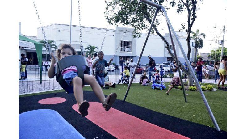 En El Recreo, alcalde Char entregó un nuevo parque para beneficio de 30.000 habitantes