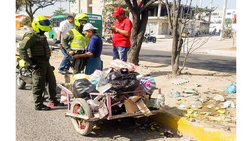 En Soledad escarbarán en las basuras para identificar a responsables de ensuciar el municipio