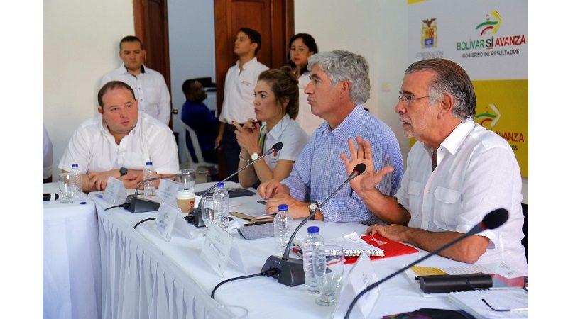 Gobernador Eduardo Verano presentó informe sobre situación del Cari a nuevo Minsalud