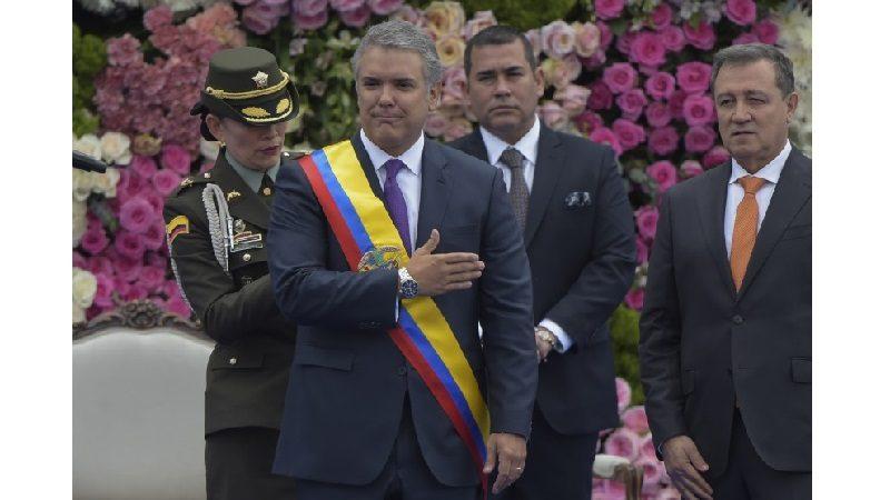 Iván Duque Márquez se posesionó como Presidente de Colombia