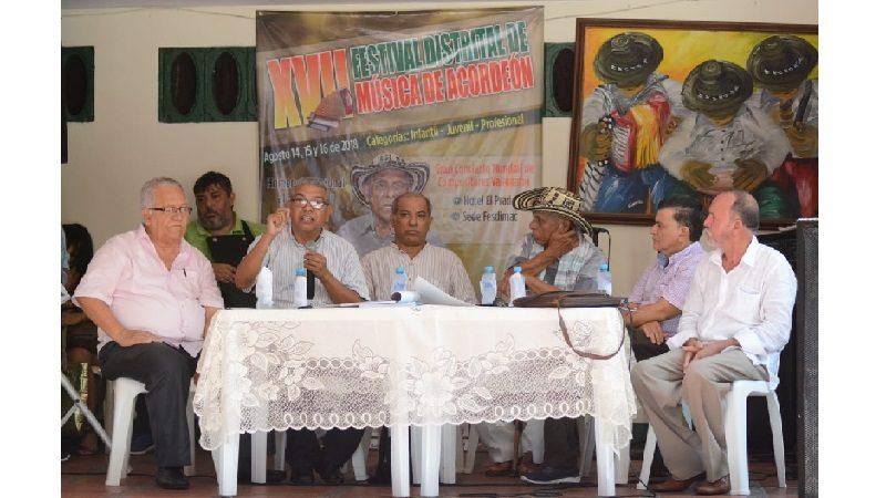 Le llegó el turno al acordeón en Barranquilla