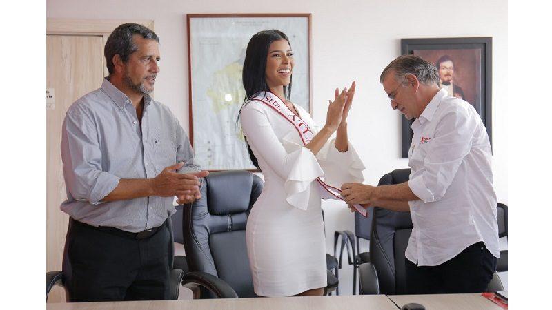 Miriam Carranza De Moya, nueva señorita Atlántico