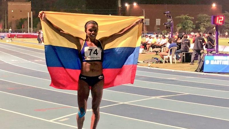 Noche de oro del Atletismo colombiano
