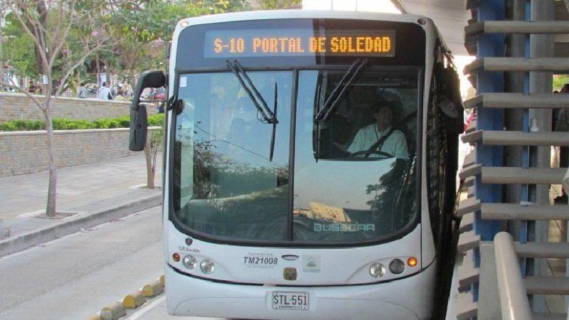 Transmetro presenta mejoras en sus rutas