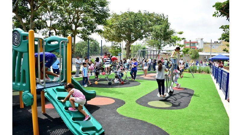 Alcalde Char entregó unidad deportiva y recreativa en el barrio La Victoria