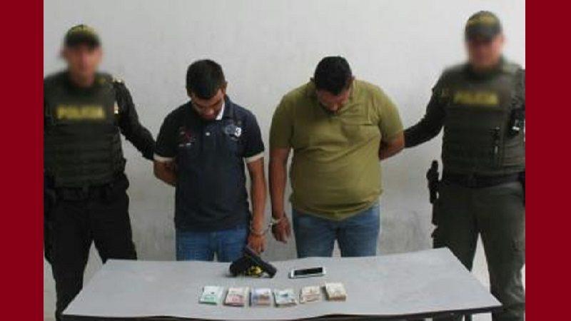 Asaltaron un banco en Alto Prado y los capturan cuando intentaban huir en un bus