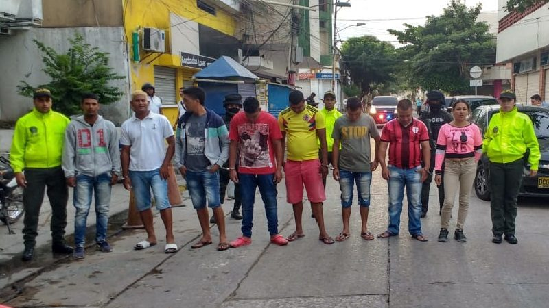 Cae banda delincuencial que habría cometido al menos 17 asesinatos en Barranquilla y Soledad