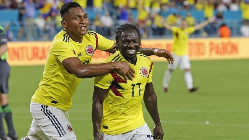 Colombia derrotó 2-1 a Venezuela, en amistoso