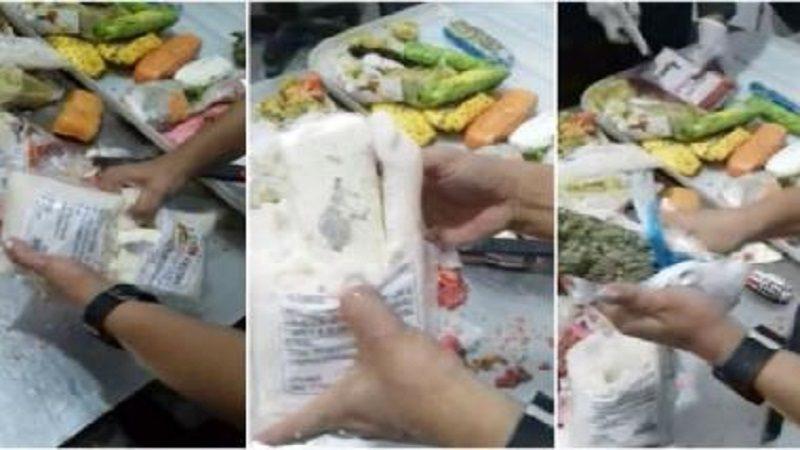 Con ayuda de un perro-policía, incautan marihuana camuflada en pulpas de frutas, en el aeropuerto de carga