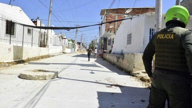 De varios tiros asesinan a un hombre en el centro de Soledad