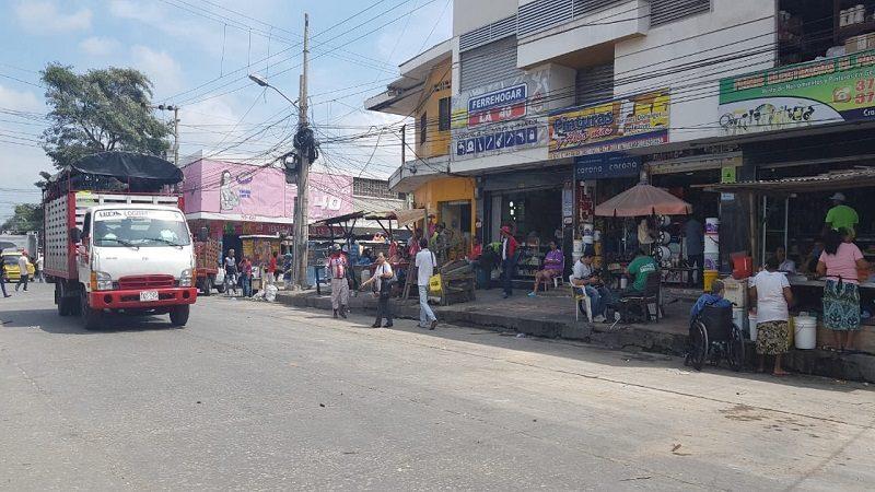 Distrito recupera otros 50 metros cuadrados de espacio público en el centro