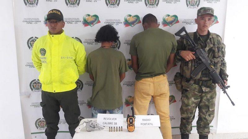 Ejército captura dos integrantes del Clan del Golfo en el Sur de Bolívar