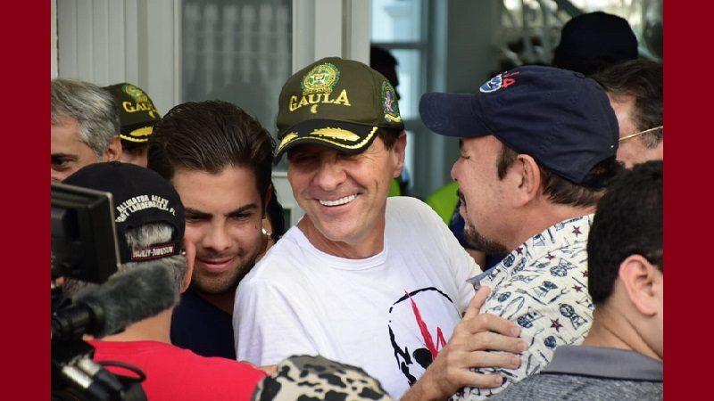 Empresario 'Fito' Acosta fue liberado, ya está en su casa en el norte de Barranquilla