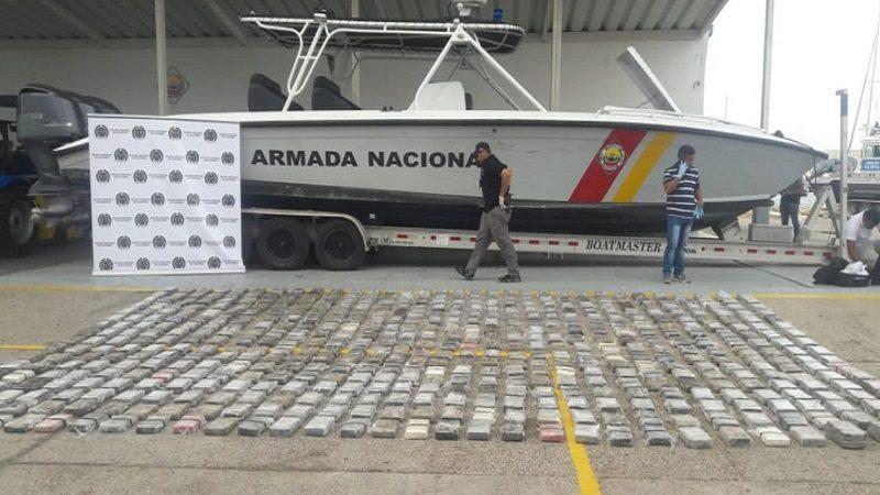 Encuentran más de media tonelada de cocaína en la Bahía de Cartagena