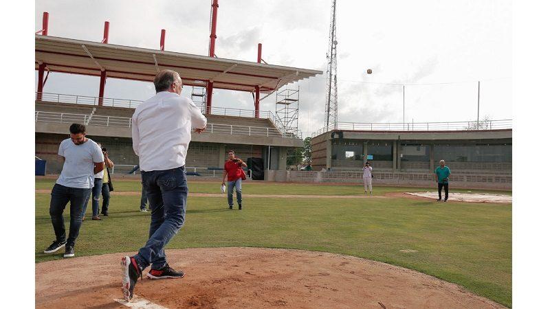 Estadio de Béisbol de Repelón se pone a punto para el mundial sub-23