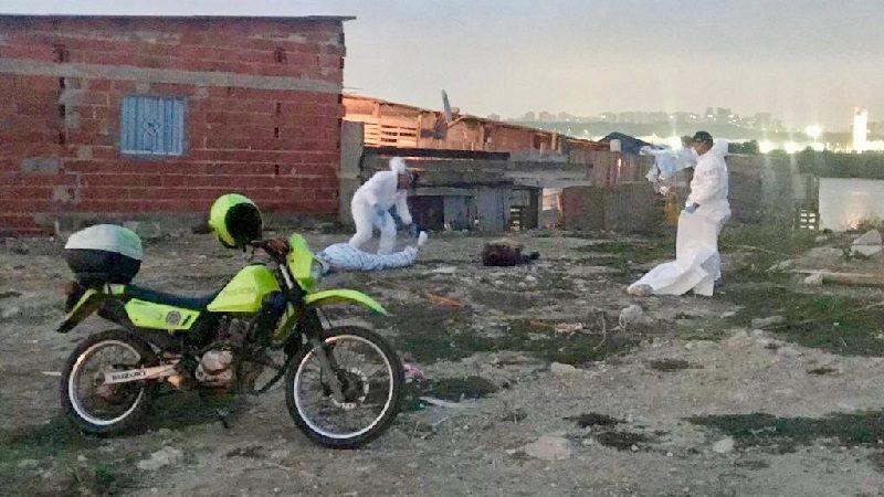 Incursión sicarial deja dos personas muertas en el barrio Las flores