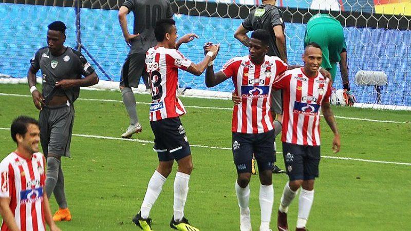 Junior goleó 3-1 a Equidad, en el estadio Metropolitano