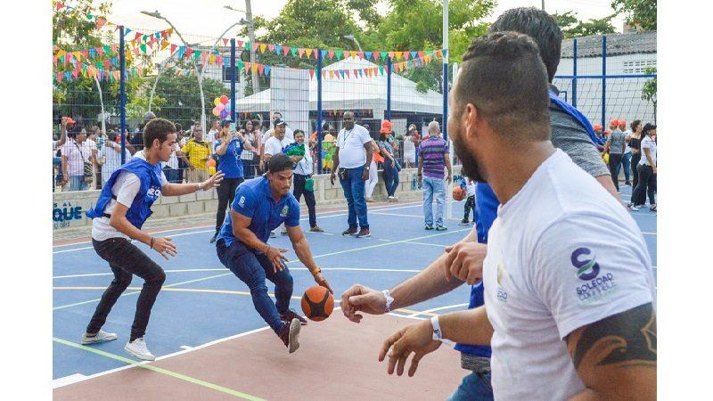 Más de 15 mil habitantes de Soledad estrenan parque en el barrio La Arboleda