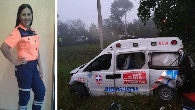 Muere enfermera en accidente de tránsito en Sabanalarga