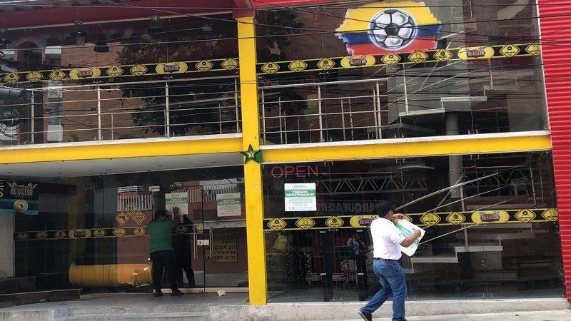 Por uso indebido del suelo, cierre definitivo de establecimiento en Barrio Abajo ok