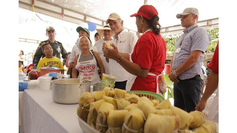 Récord de visitantes y ventas en el Festival del Bollo y el Frito en Ponedera