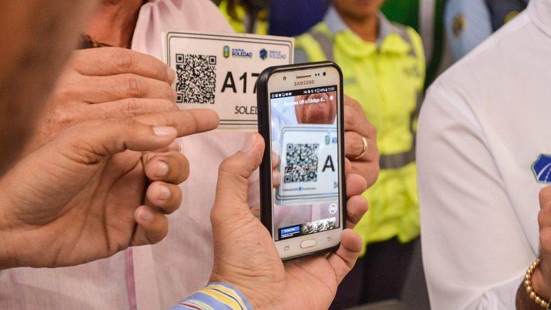 Tránsito de Soledad implementa APP para controlar legalidad en motocarros