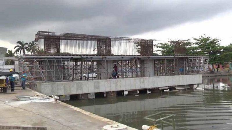 A buen ritmo avanzan obras de puente sobre el caño de Las Compañías