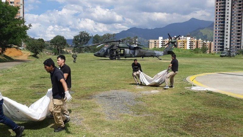 Abatidos cinco miembros de estructura criminal por asesinato de geólogos en Antioquia ok