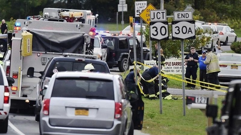 Al menos 20 muertos deja accidente de tránsito en Nueva York