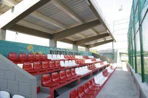 Así quedó el moderno estadio de sóftbol de Puerto Colombia 1