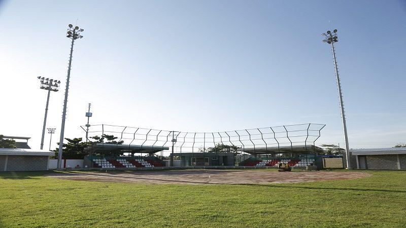 Así quedó el moderno estadio de sóftbol de Puerto Colombia