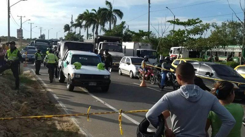 Asesinan a conductor de una Dacia en la Circunvalar