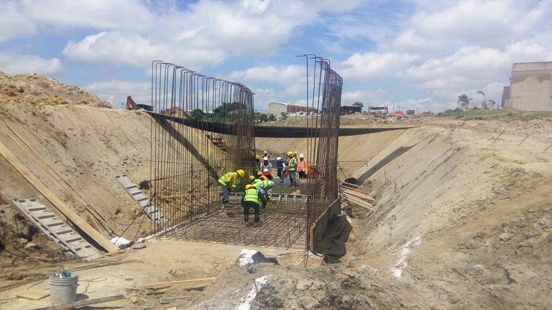 Avanza con celeridad canalización de arroyo del nuevo puente La Virgencita, en Soledad