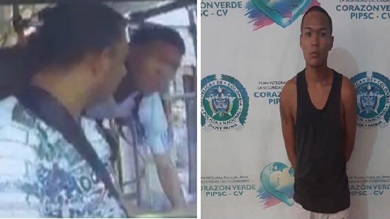 Cae alias 'Edgardito', uno de los atracadores de buses más buscados en Barranquilla