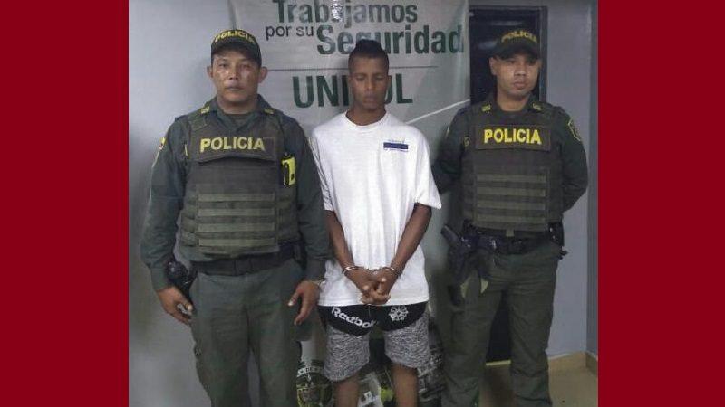 Cayó alias 'Chopito', miembro de la banda 'Los Felipitos', en el barrio Rebolo