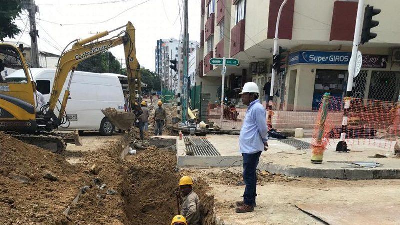 Cerrada temporalmente estación Alfredo Correa por obras de canalización