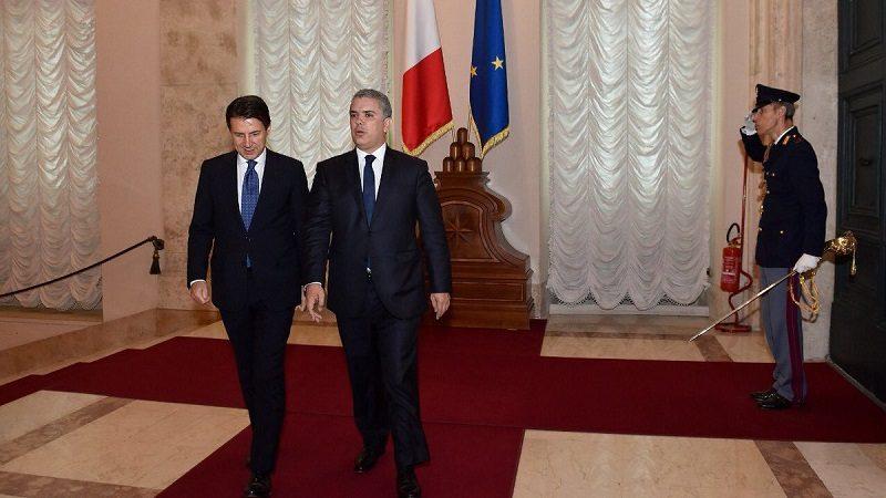 Colombia e Italia acuerdan fortalecer sus relaciones comerciales