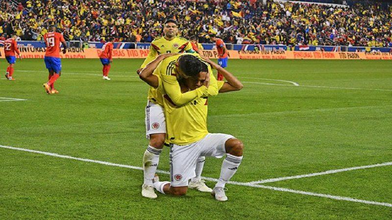 Colombia ganó 3-1 a Costa Rica y termina invicta su gira por Estados Unidos