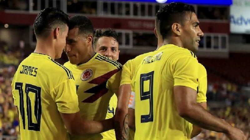 Colombia remontó y derrotó 2-4 a Estados Unidos, en partido amistoso
