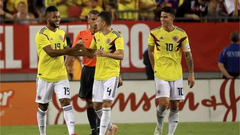 Colombia ya está en New Jersey para enfrentar a Costa Rica el próximo martes