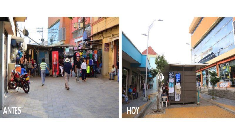 Con calle modelo del proyecto de peatonalización, Distrito recupera más espacio para uso público