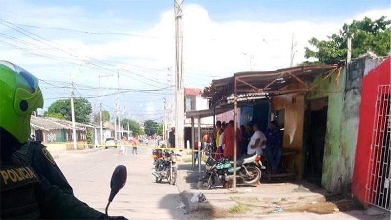De doce tiros asesinan a un hombre en el barrio La Luz