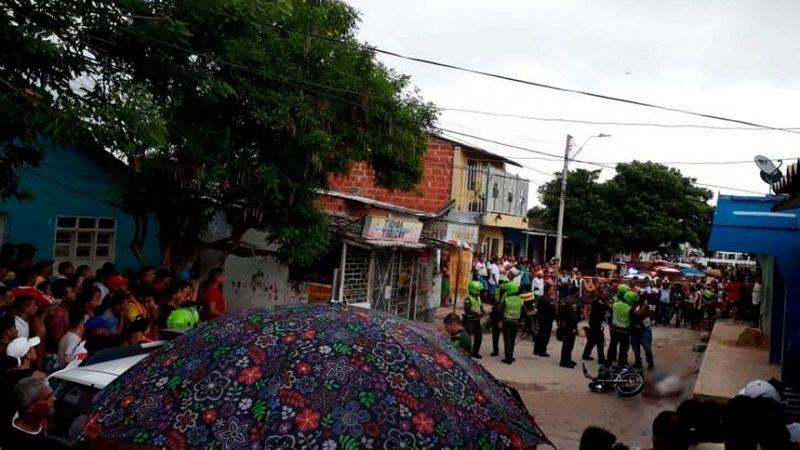 De tres tiros asesinan a un hombre en el barrio Las Nieves