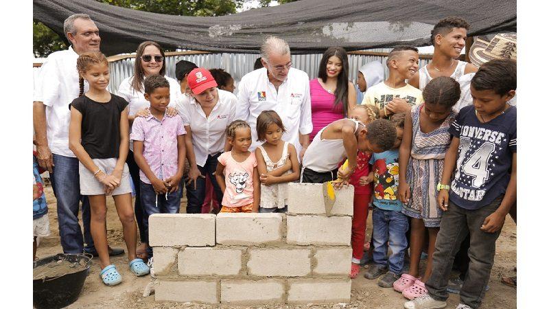 En marcha construcción de Casa de la Cultura de Campo de la Cruz