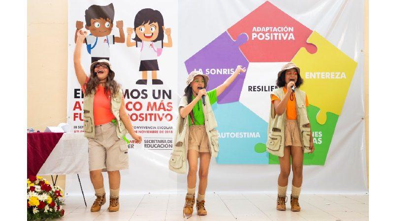Estudiantes de colegios públicos y privados se integran por un Atlántico más fuerte y positivo